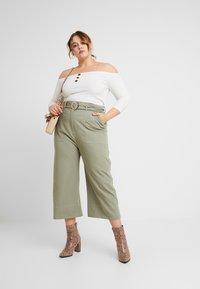 River Island Plus - Trousers - khaki - 1