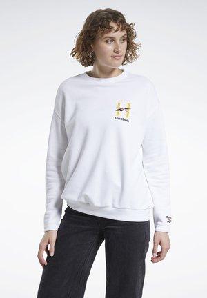 CLASSICS HOTEL CREW SWEATSHIRT - Sweatshirt - white