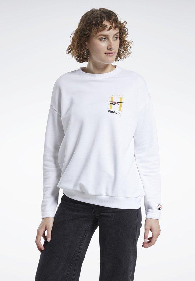 CLASSICS HOTEL CREW SWEATSHIRT - Sweater - white