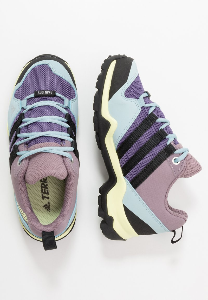 adidas Performance - TERREX AX2R RAIN.RDY - Trekingové boty - tech purple/core black/legend purple