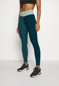 Nike Performance - ONE LUXE - Leggings - dark teal green - 0