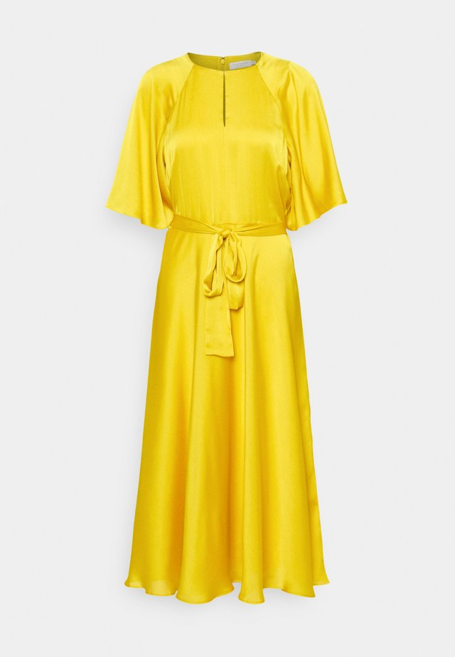 HARIIET - Korte jurk - yellow