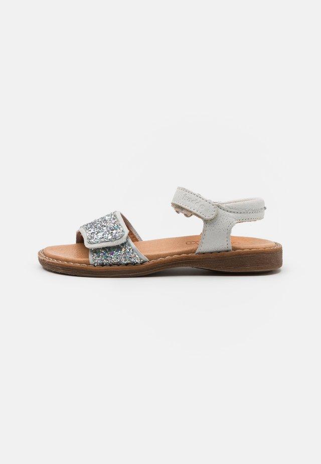 LORE SPARKLE - Sandals - white