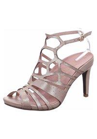 Tamaris - High heeled sandals - gold - 1