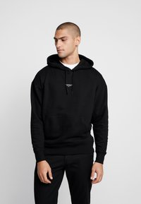 Good For Nothing - ESSENTIAL HOODIE - Felpa con cappuccio - black - 0