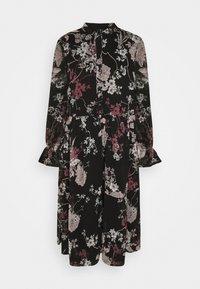 Vero Moda - VMKATINKA DRESS  - Day dress - black - 4