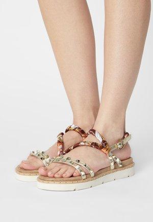 Sandals - platino