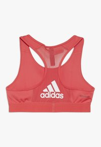 adidas Performance - Sport BH - coral pink/white - 1