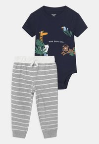 Carter's - ANIMAL SET - Print T-shirt - dark blue - 0