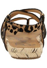 Blowfish Malibu - VEGAN GRANOLA - T-bar sandals - sahara leopard 336 - 3