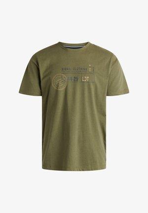 GAVIN ORGANIC + - T-shirt print - forest melange