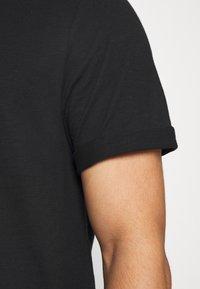 Burton Menswear London - 3 PACK - T-shirt - bas - black - 5