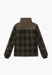 Brunotti - CHECK BOYS - Snowboardová bunda - pine grey - 2
