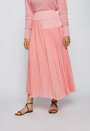 Pleated skirt - pink