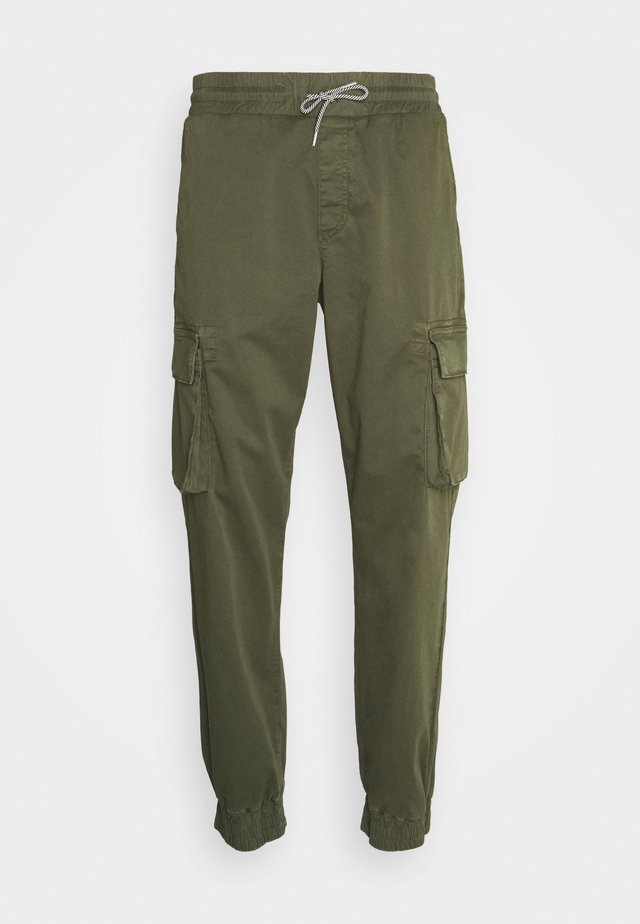 CARGO PANTS - Cargo trousers - dark olive