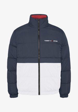 REVERSIBLE PUFFER - Winter jacket - twilight navy / multi