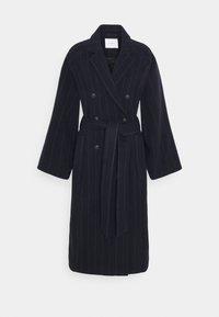 Classic coat - navy blue