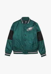 Outerstuff - NFL PHILADELPHIA EAGLES VARSITY JACKET - Sportovní bunda - sport teal/black - 3