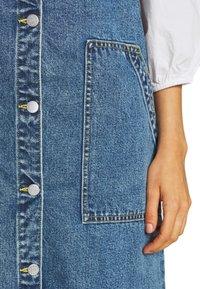 Monki - MARIA DRESS - Denim dress - blue medium dusty blue - 5