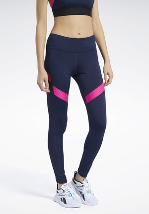 WORKOUT READY MESH LEGGINGS - Medias - blue