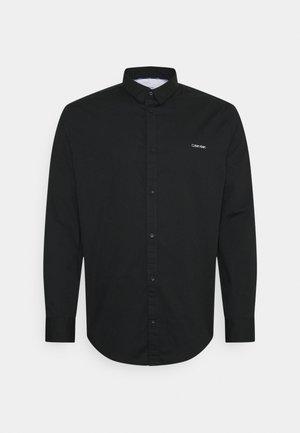 SLIM FIT STRETCH - Hemd - black