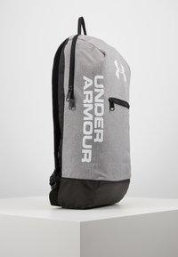 Under Armour - PATTERSON BACKPACK - Rucksack - steel medium heather/black/white - 6