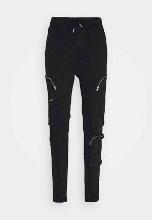 MARIO - Cargo trousers - black