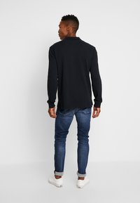 Tommy Jeans - CLASSICS LONGSLEEVE - Polo shirt - black - 2