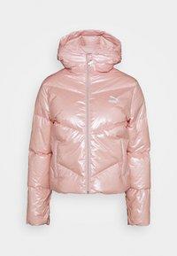 CLASSICS SHINE JACKET - Down jacket - peachskin
