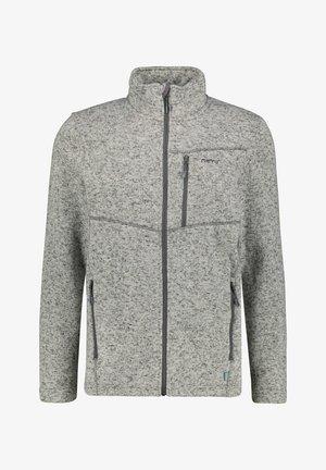 BERGEN - Fleece jacket - hellgrau mel.