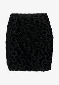 MINA SKIRT - Miniskjørt - black