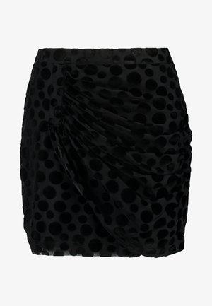 MINA SKIRT - Mini skirt - black