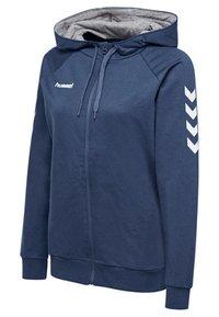 Hummel - HMLGO - Zip-up sweatshirt - true blue - 2