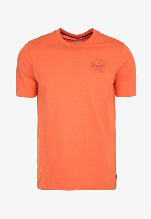 T-shirt print - carnelian/apricot
