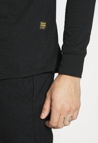 G-Star - LASH R T L\S - Långärmad tröja -  black - 5