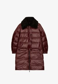 Uterqüe - Winter coat - bordeaux - 5