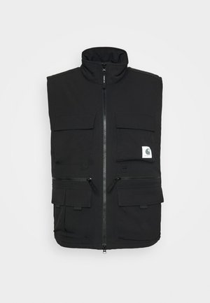 COLEWOOD VEST - Waistcoat - black
