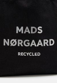 Mads Nørgaard - BOUTIQUE ATHENE - Velká kabelka - black / silver - 3