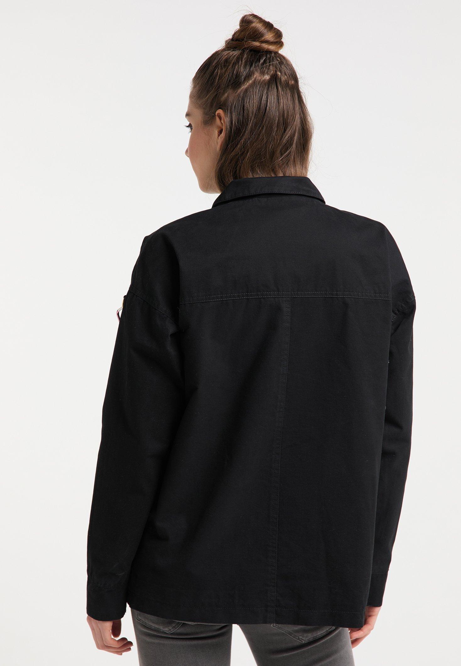 myMo Leichte Jacke black/schwarz