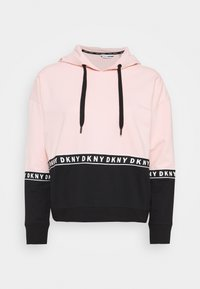 DKNY - BOXY HOODED - Hoodie - rosewater - 0
