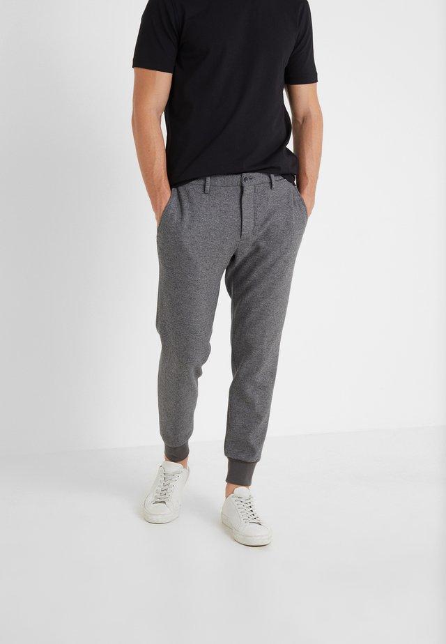 GIORGIO - Trousers - grey melange