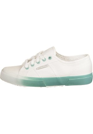 GRADIENT  - Sneakers laag - white / blue light crystal