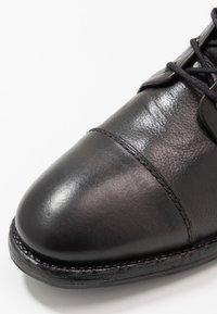 ALDO - GURNARD - Snørestøvletter - black - 5