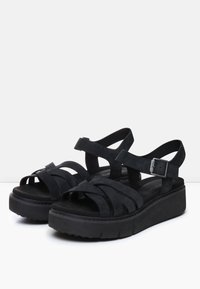 Timberland - SAFARI DAWN - Platform sandals - jet black - 2