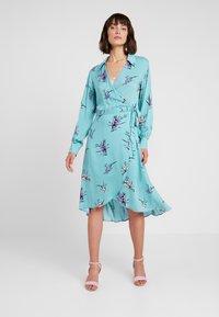 Levete Room - GRITA - Denní šaty - adriatic blue combi - 0