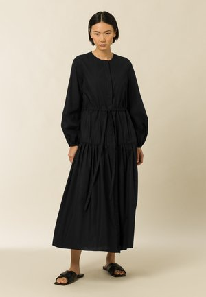 ORTENSIA - Robe chemise - black