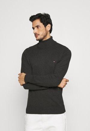 ROLL NECK - Pullover - dark grey heather
