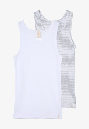 GIRLIE MIX TANK 2 PACK - Tílko - light grey