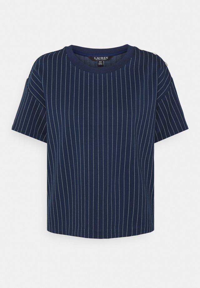 T-shirt imprimé - french navy/pale