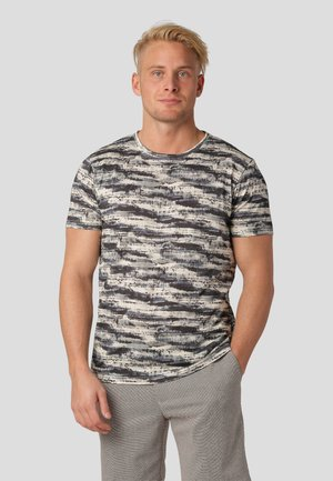 REGGIO - Print T-shirt - ultra dark navy